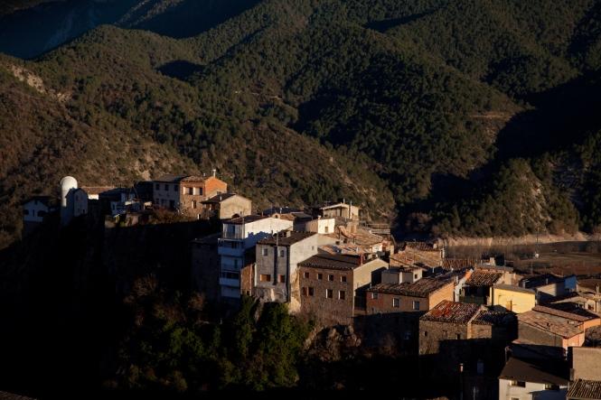 Beautiful village of Coll de Nargo